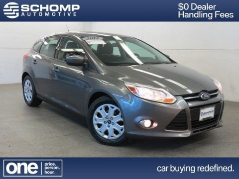 Pre-Owned 2012 Ford Focus SE FWD Hatchback
