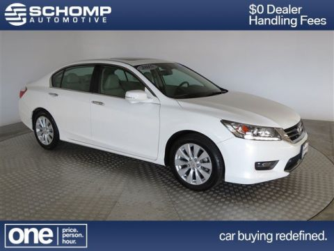 Pre-Owned 2015 Honda Accord Sedan Touring With Navigation