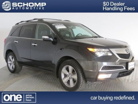 Pre-Owned 2013 Acura MDX Tech Pkg With Navigation & AWD