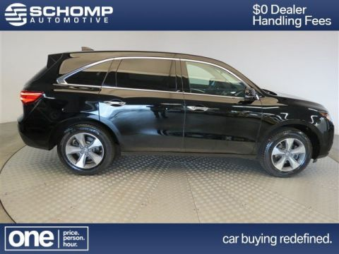 Pre-Owned 2014 Acura MDX BLACK AWD