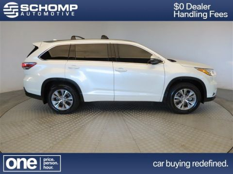 Pre-Owned 2015 Toyota Highlander XLE With Navigation