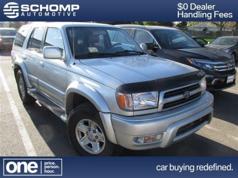 Pre-Owned 2000 Toyota 4Runner Limited 4WD