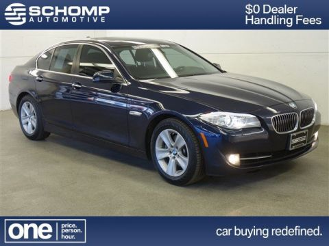 Certified Pre-Owned 2013 BMW 5 Series 528i xDrive AWD