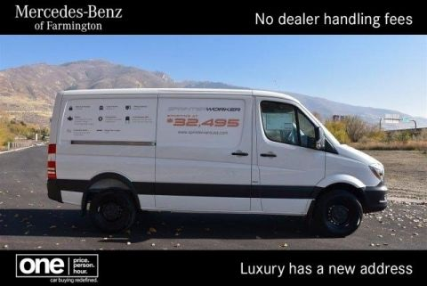 New 2016 Mercedes-Benz Sprinter Cargo Vans Worker RWD Full-size Cargo Van