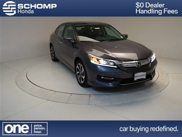 New 2017 Honda Accord Ex L 4dr Car In 270012 Schomp